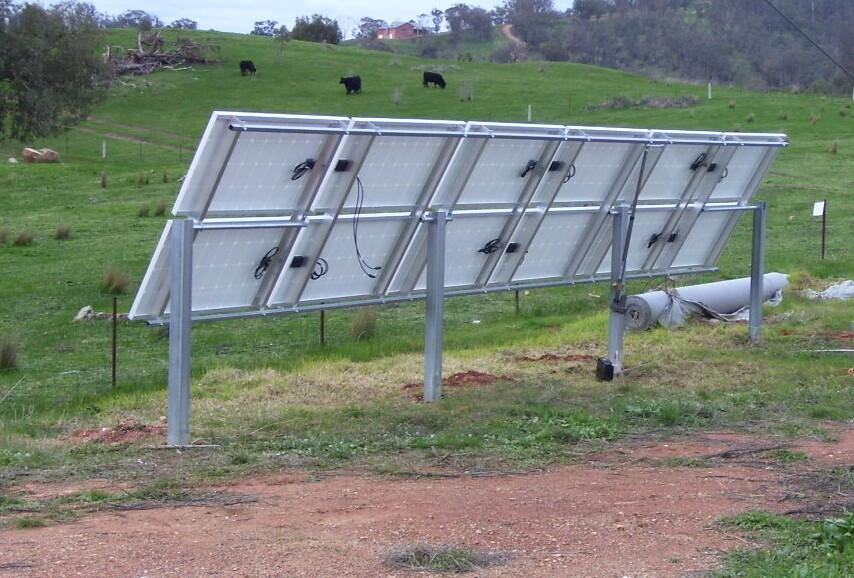 Solar Panel Ground Stand